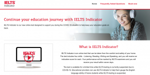 IELTS launches temporary at-home option